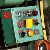 Lock-out for push buttons S2151