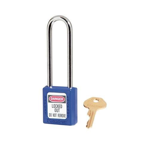 Zenex safety padlock blue 410LTBLU