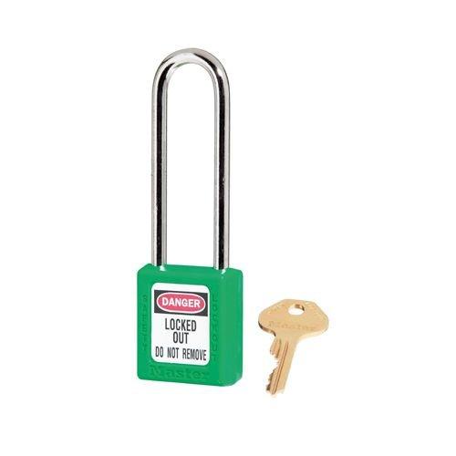 Zenex safety padlock green 410LTGRN