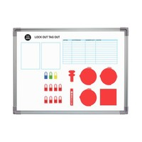 Custom made Lockout-Tagout shadow board