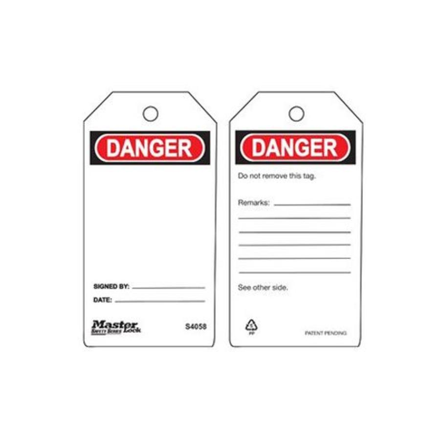 Safety tags Guardian Extreme blank (6 pcs)