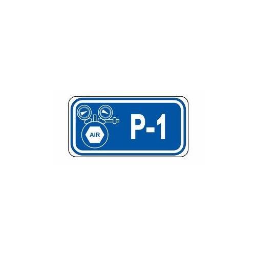 Identificatietags pneumatische vergrendelpunten