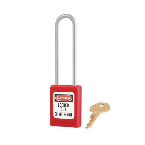 Zenex safety padlock red S31LTRED