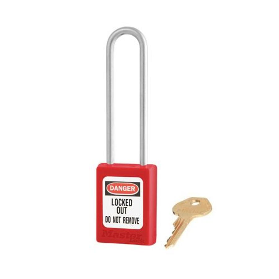 Zenex safety padlock red S31LTRED
