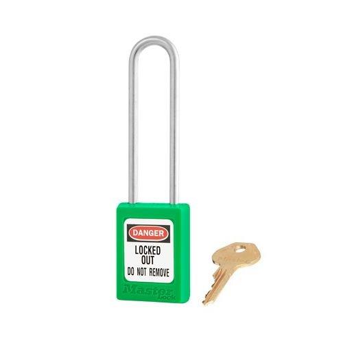 Zenex safety padlock green S31LTGRN