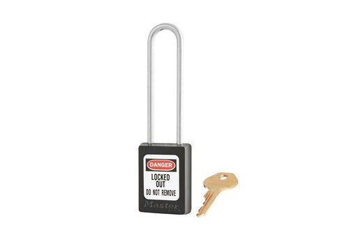 Zenex safety padlock black S31LTBLK