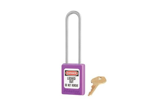 Zenex safety padlock purple S31LTPRP