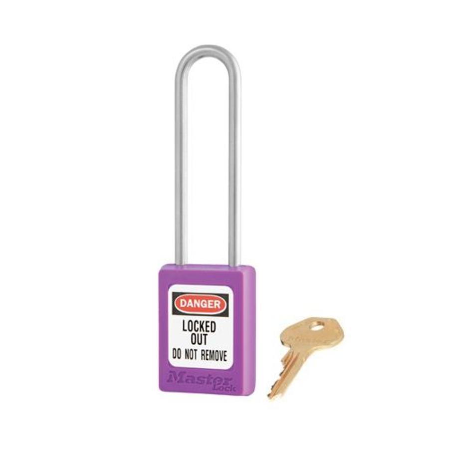 Zenex safety padlock purple S31LTPRP
