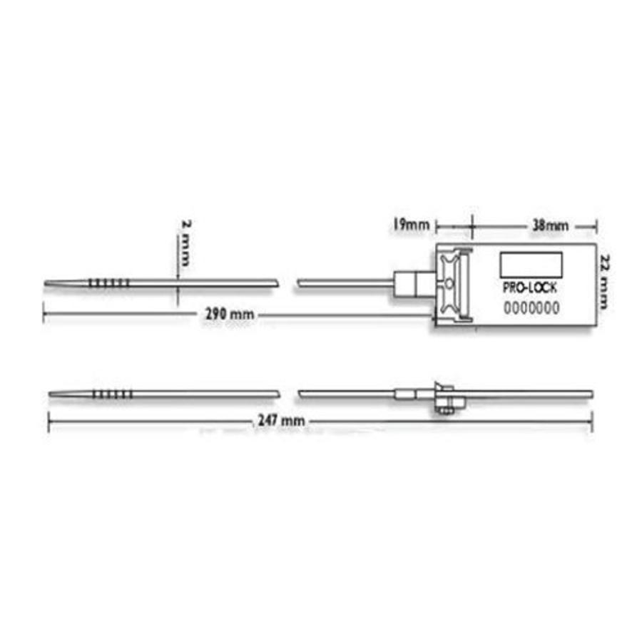 Sicherheits-Seal (1000 Stück) SS-01