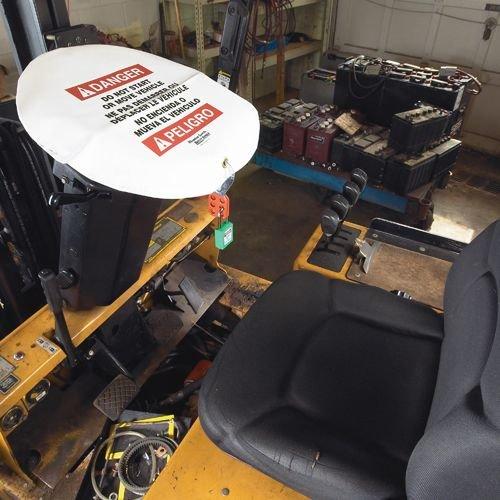 Steering wheel lock-out