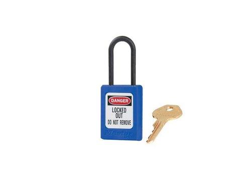 Zenex Sicherheits-vorhängeschloss blau S32BLU