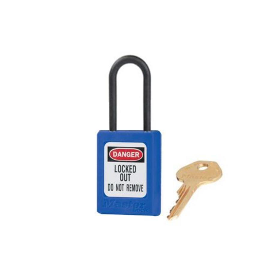 Zenex Sicherheits-vorhängeschloss blau S32BLU - S32KABLU