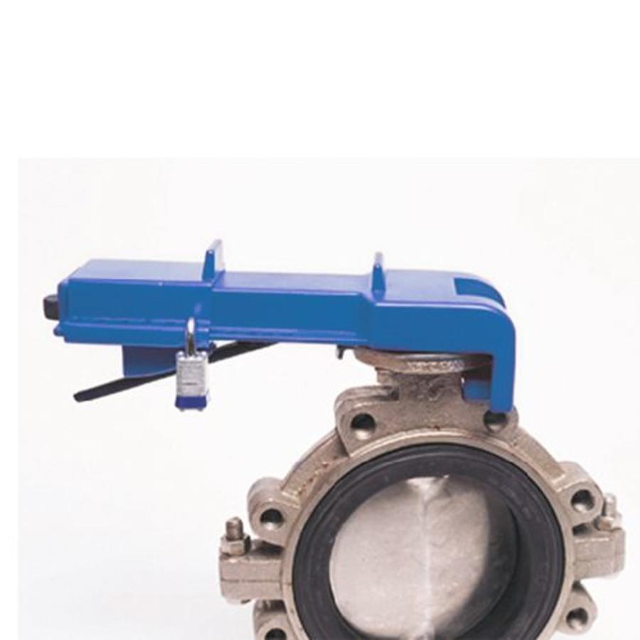 Butterfly valve lockout 256963
