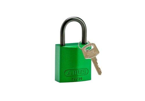 Geanodiseerd aluminium veiligheidshangslot groen 834860