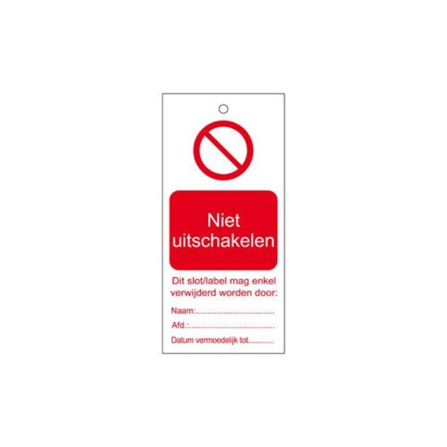 Waarschuwingstags Nederlands