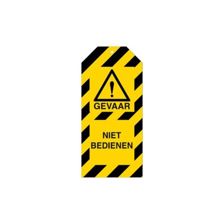 Waarschuwingstags Gevaar Nederlands
