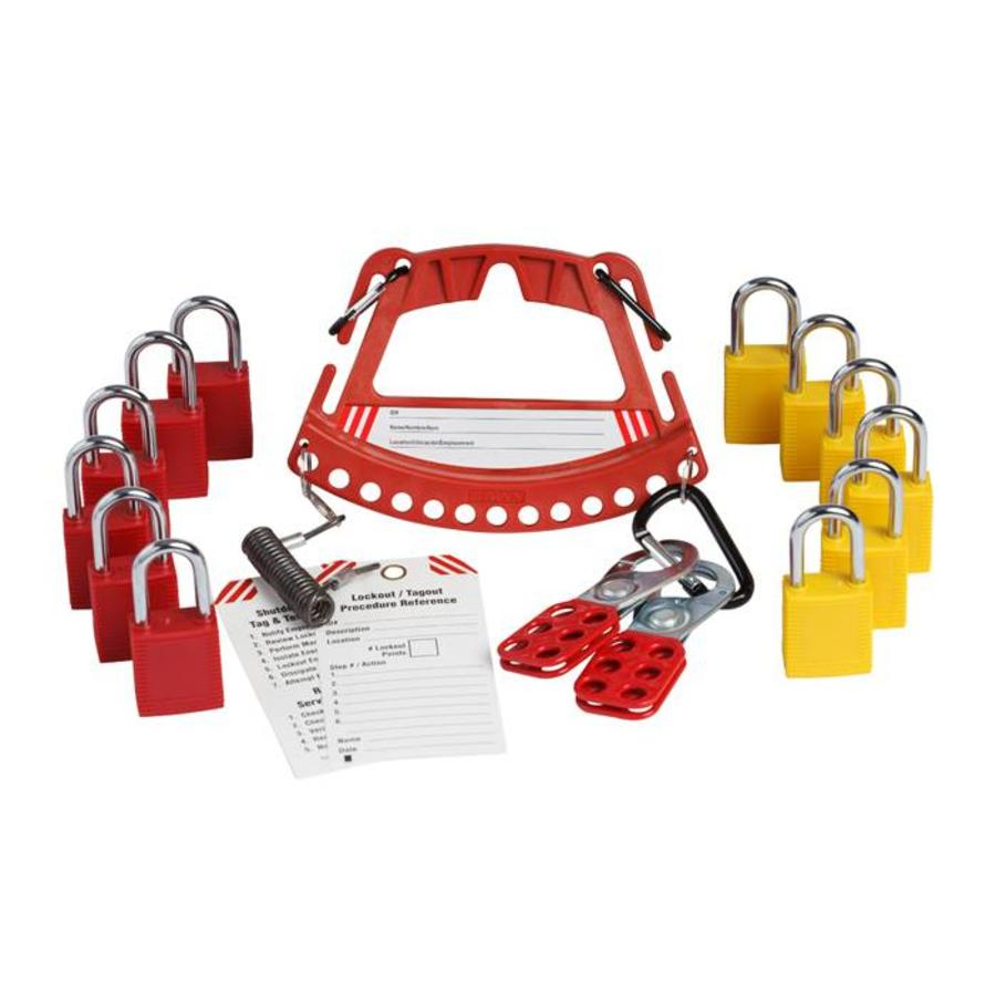 Kit with padlock carrier 148864