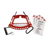 Safety lock & tag carrier 148866-148861-148862-148865