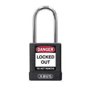 Abus Aluminium veiligheidshangslot met zwarte cover 77575