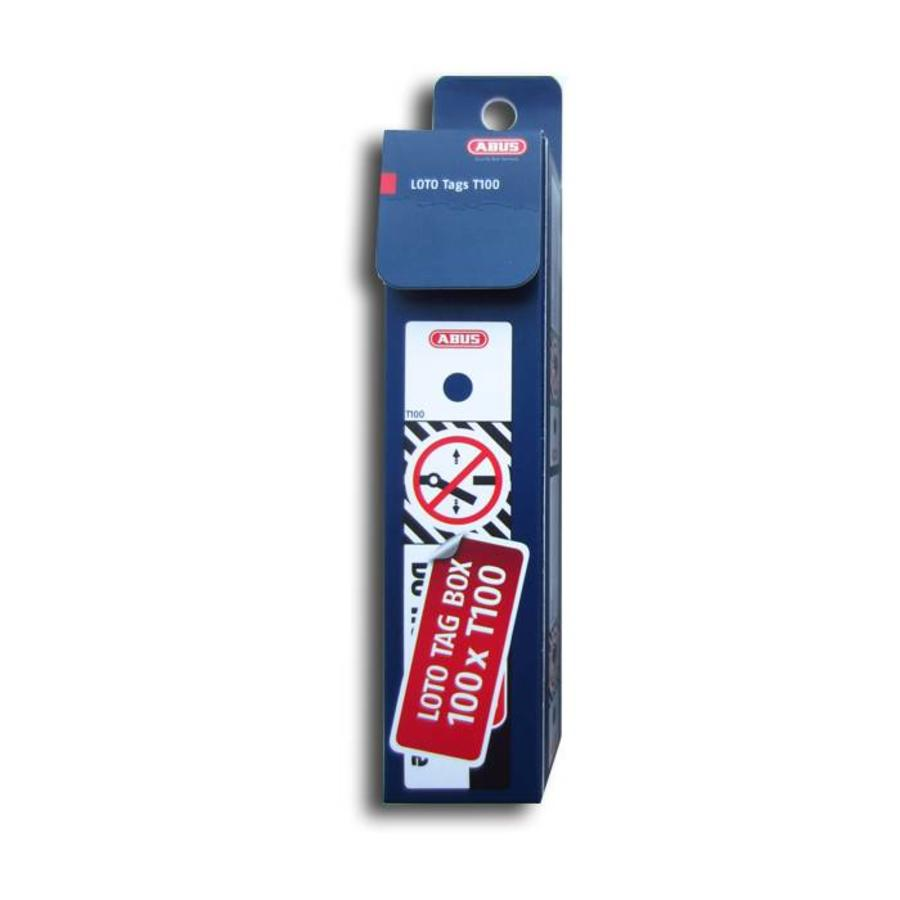 Veiligheidstags polypropyleen T100