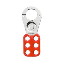 Abus Aluminum safety padlock with red  cover 74BS/40 ROT