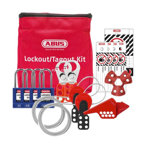 Filled Lock-out pouch SL Bag 130 Mechanical