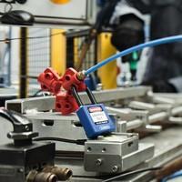 Druckluftanschluss-Verriegelung P603