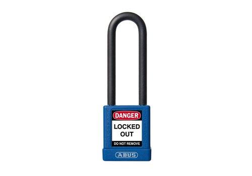 Aluminium Sicherheits-vorhängeschloss mit blaue Abdeckung 74/40HB75 blau