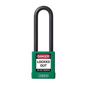 Abus Aluminium veiligheidshangslot met groene cover 58984