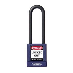 Abus Aluminium veiligheidshangslot met paarse cover 58986
