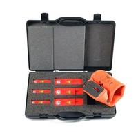 Set veiligheidsspermessen voor NH zekeringen met patroontrekkerUIO2021032