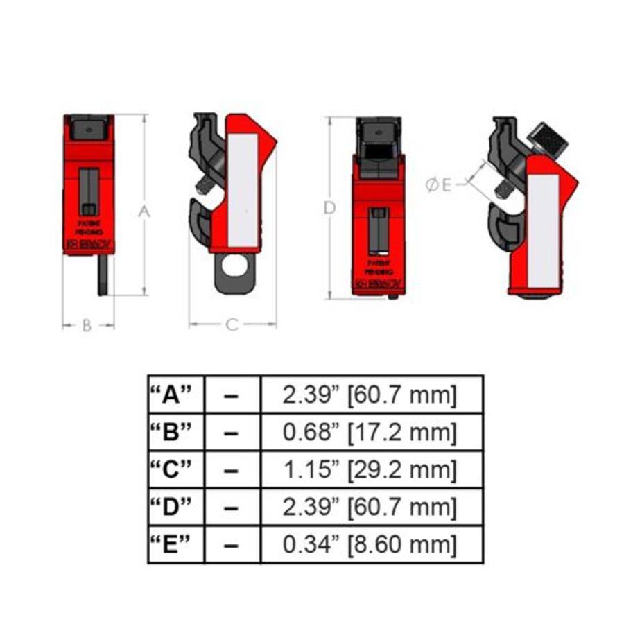Universal Mini Circuit Breaker Lockout 149514