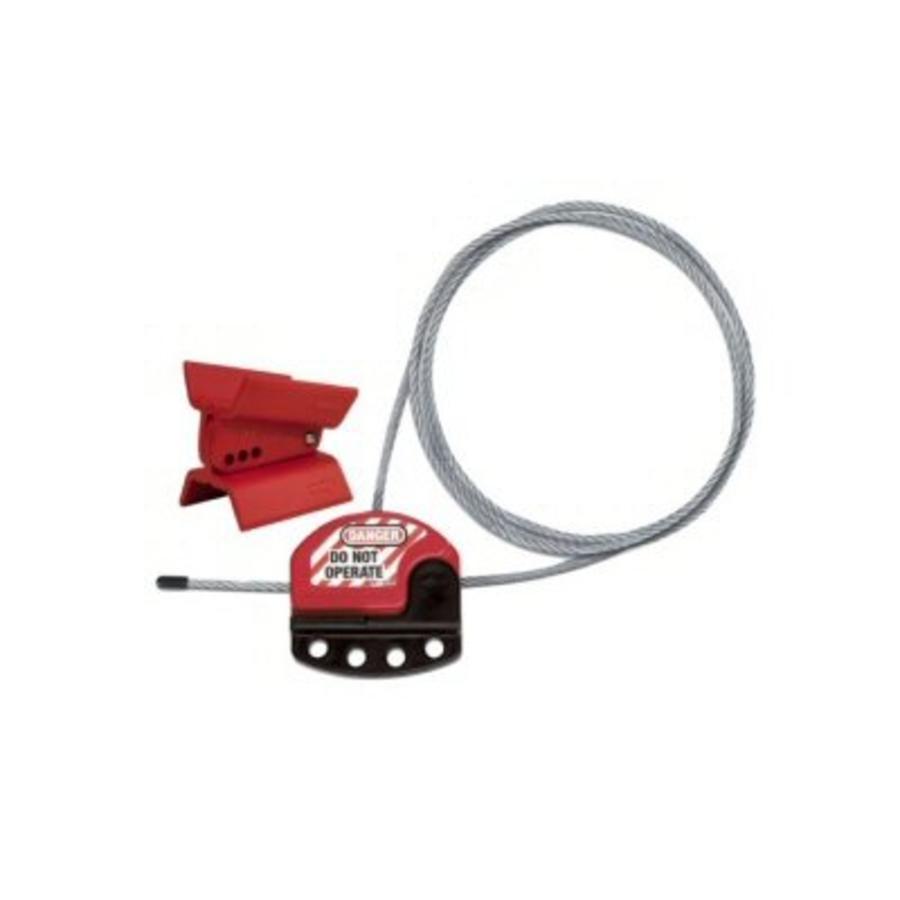 Universal butterfly valve locking device S3920