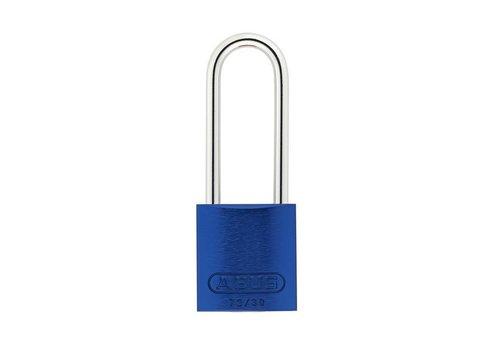 Sicherheitsvorhängeschloss aus eloxiertes Aluminium blau 72/30HB50 BLAU