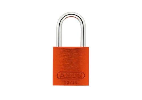 Sicherheitsvorhängeschloss aus eloxiertes Aluminium orange 72/30 ORANGE