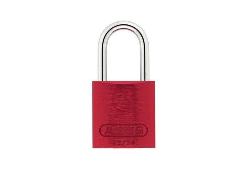Geanodiseerd aluminium veiligheidshangslot rood 72/30 ROT