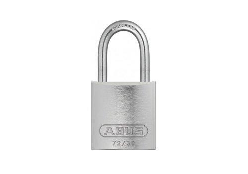 Geanodiseerd aluminium veiligheidshangslot grijs 72IB/30 GRAU