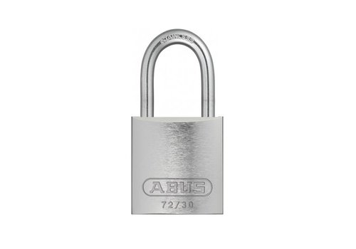 Sicherheitsvorhängeschloss aus eloxiertes Aluminium grau 72IB/30 GRAU