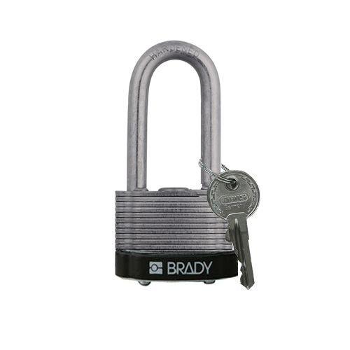 Sicherheits-vorhängeschloss Stahl schwarz 814105