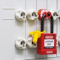 Vergrendeling voor schroefzekeringen met hangslotgat E218 - E233