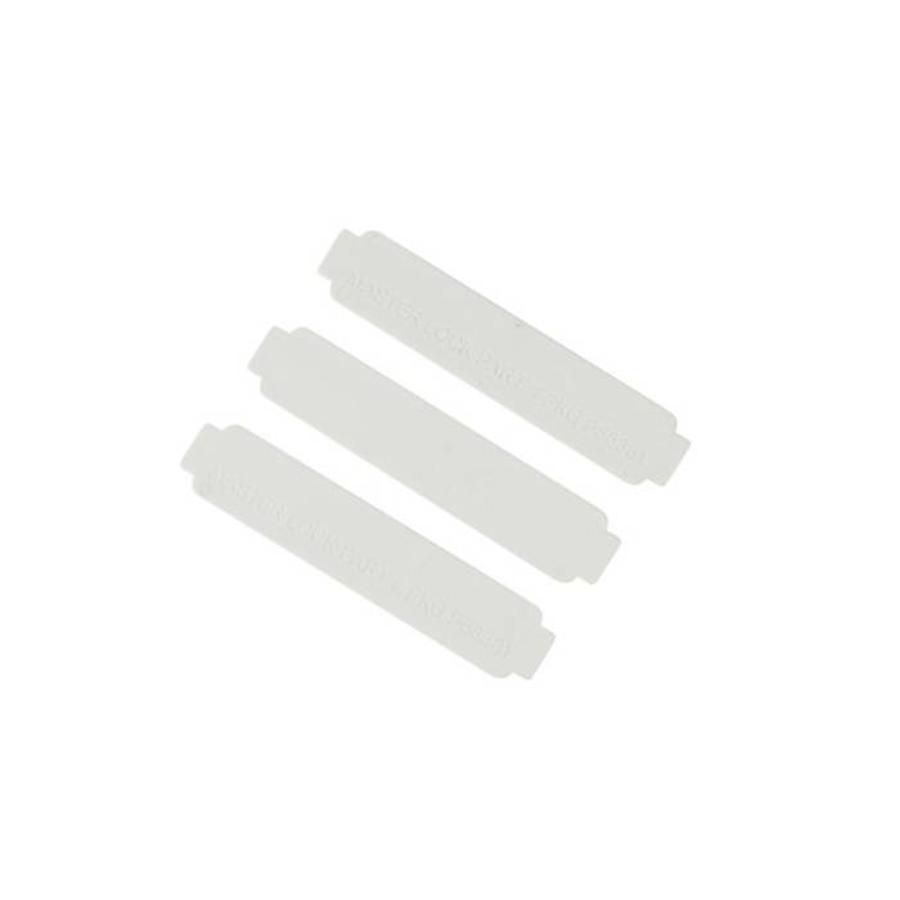 Labels voor S3650 lockbox PKGP58381 (20 stuks)