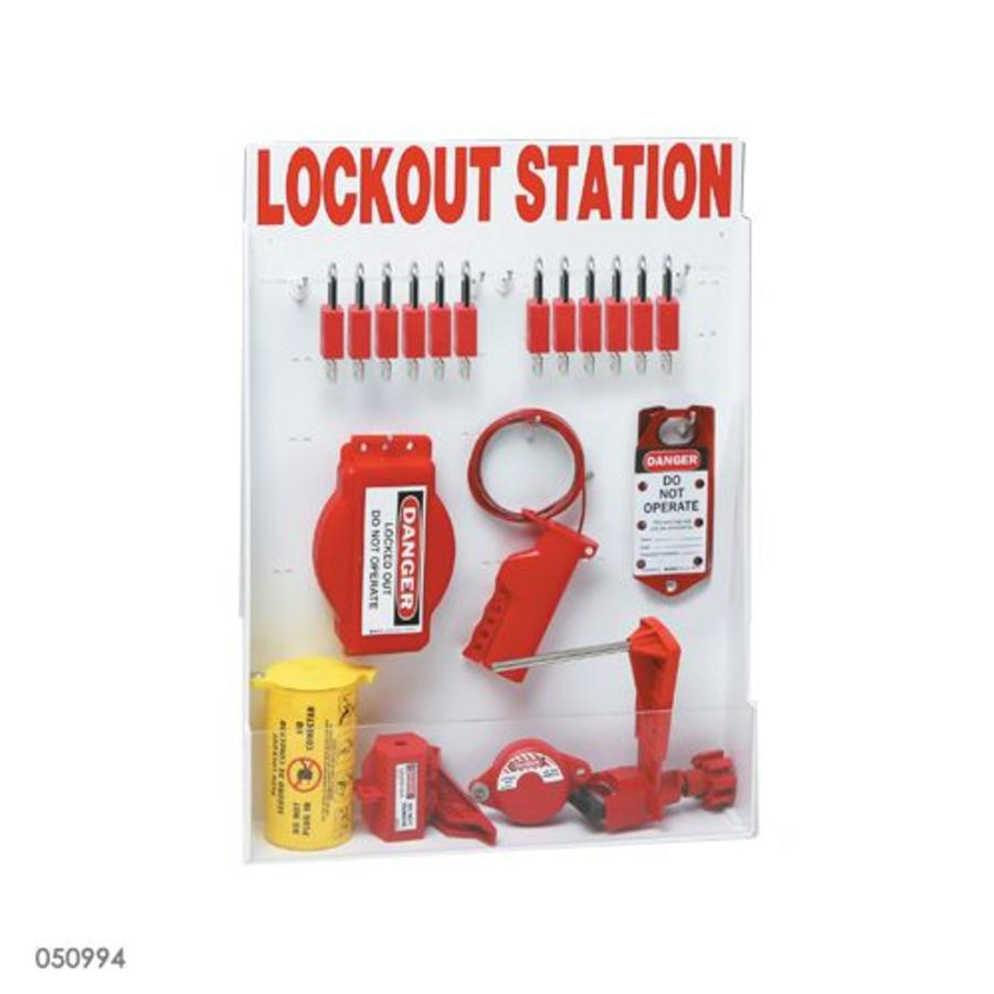 Aanpasbaar lockout station 050997