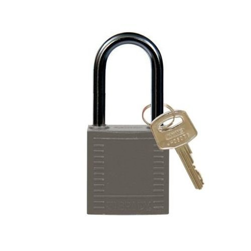 Nylon compact veiligheidshangslot grijs 814133