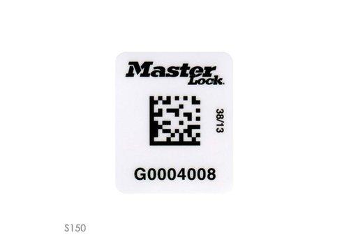 Vorhängeschloss-Etiketten mit RFID Barcode S151-S152