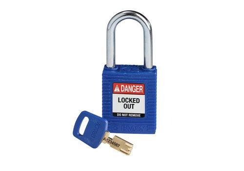 SafeKey nylon Sicherheits-vorhängeschloss blau150251