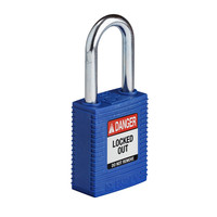 SafeKey nylon safety padlock blue 150251 / 150316