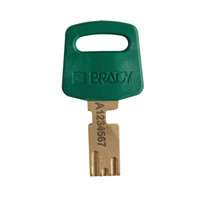SafeKey nylon Sicherheits-vorhängeschloss grün 150368 / 150337