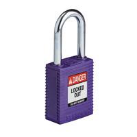 SafeKey nylon veiligheidshangslot paars 150250 / 150362