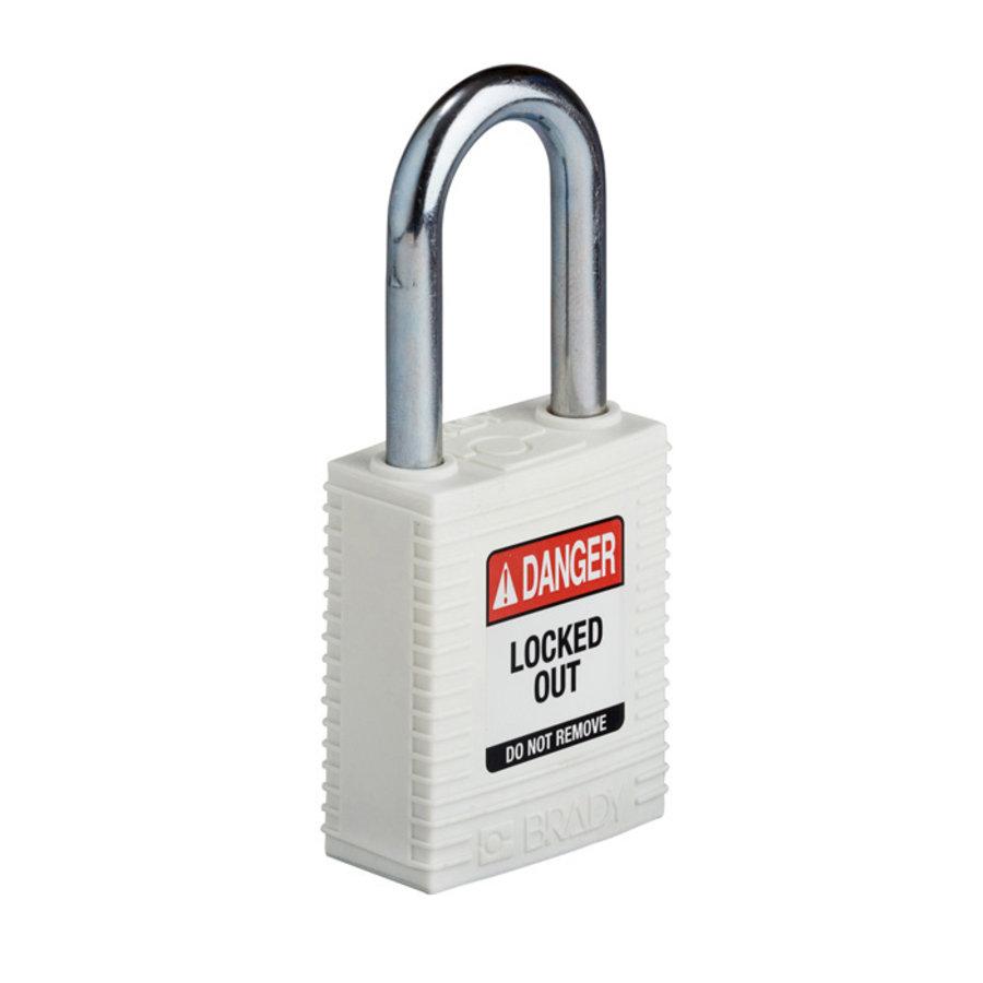 SafeKey nylon veiligheidshangslot paars 150367 / 150292
