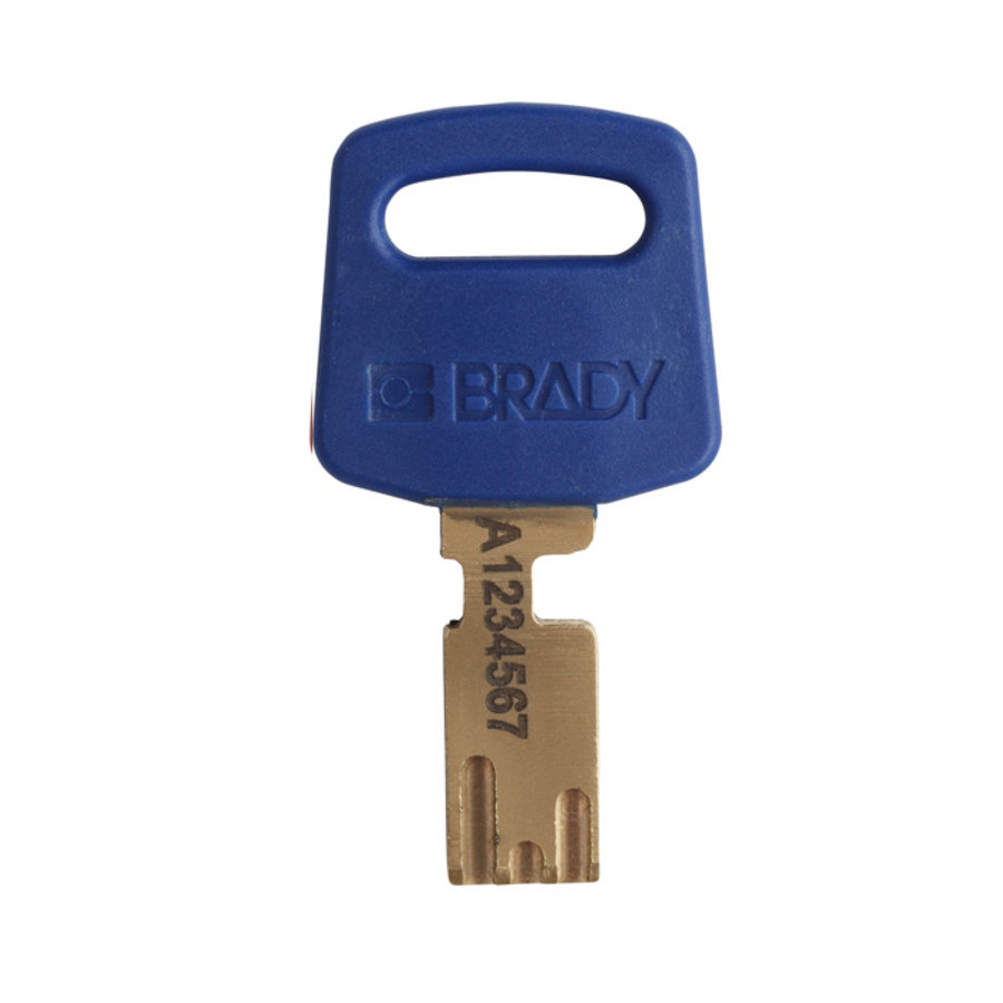 SafeKey nylon veiligheidshangslot blauw 150366 / 150221